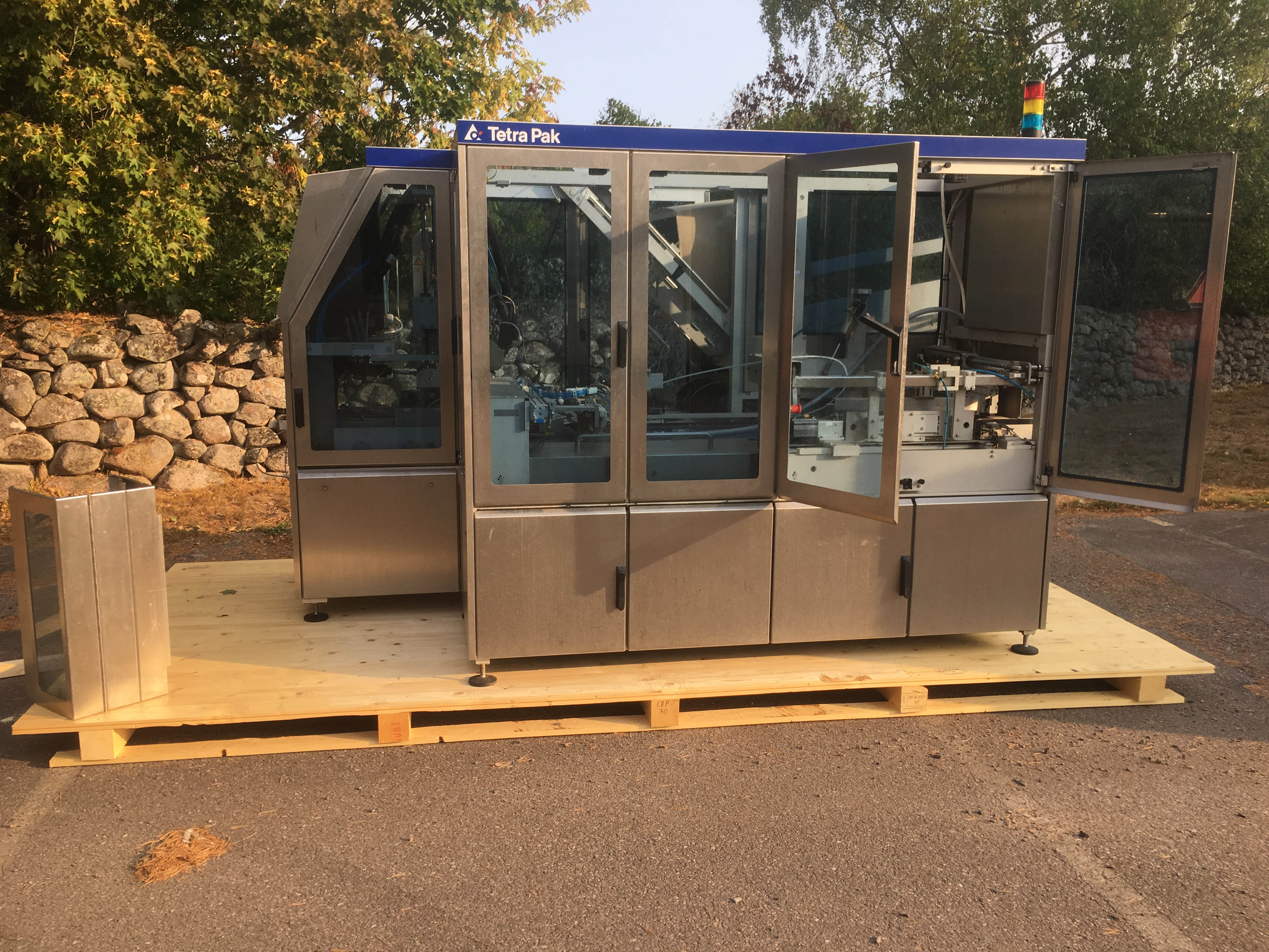 Sold Two TCBP 70 Packer to TLG Neff Gmbh, Germany