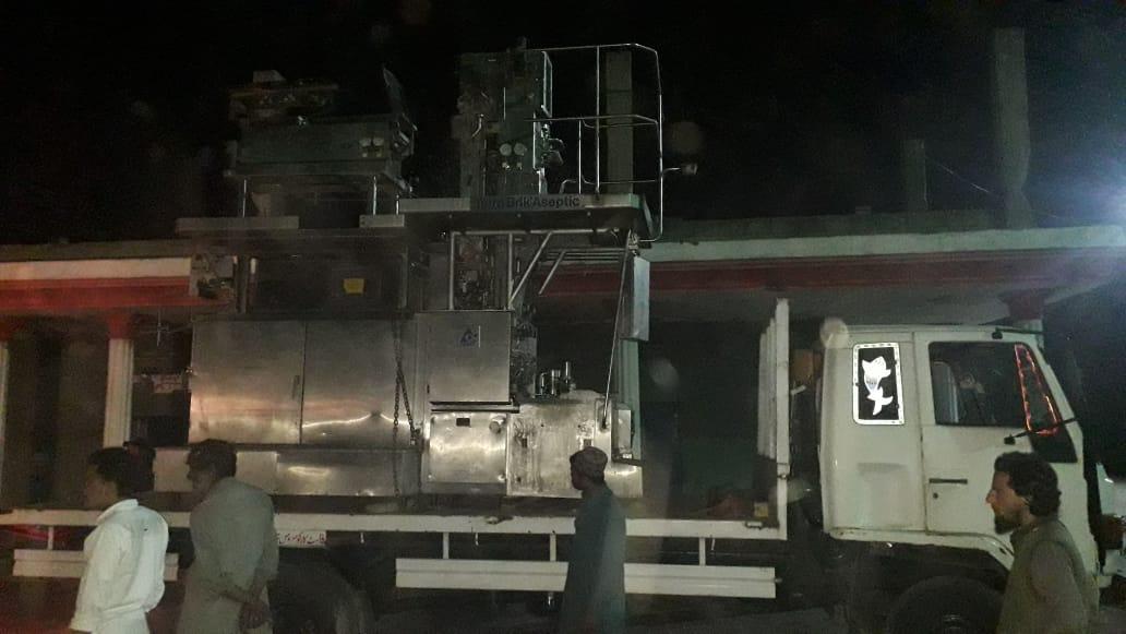 Sold One TBA 9 250ml Base Filling Machine to Pakistan