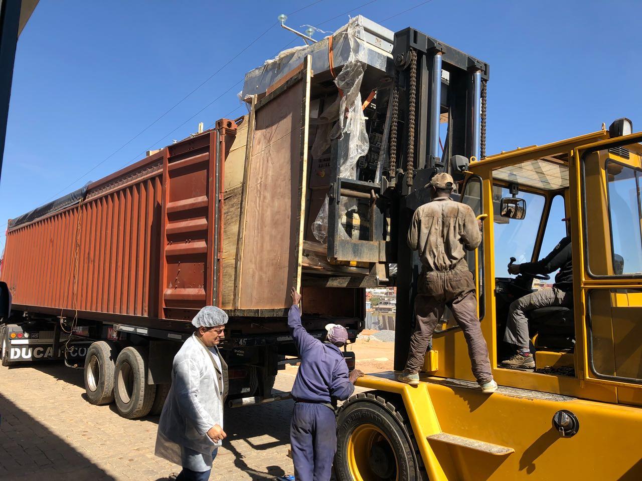Sold One TBA 8 1000ml Slim Filling Machine to Madagascar